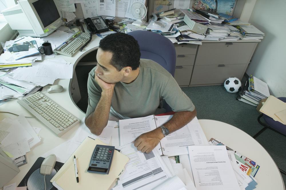 Clean your desk, pronto! WHS